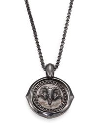 Stephen Webster - Sterling Silver Aries Pendant Necklace - Lyst