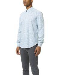 Culturata - Point Collar Check Shirt - Lyst