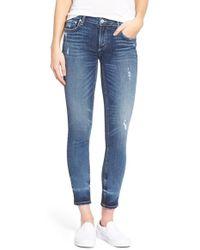 Tularosa - 'bella' Distressed Skinny Jeans - Lyst