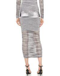 Torn By Ronny Kobo - Karima Skirt - Space Dye Black - Lyst