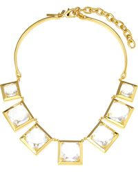Lele Sadoughi | Looking Glass Necklace | Lyst