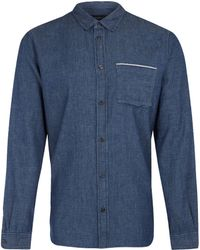 Marc By Marc Jacobs Indigo Selvedge Chambray Shirt - Lyst