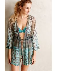 Gypsy 05 Zoya Silk Robe - Lyst