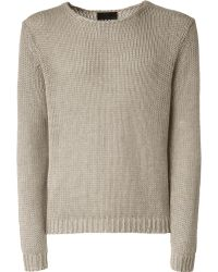 Iris Von Arnim Sweater Ben khaki - Lyst