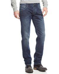 Armani Jeans J23 Slim-Fit Medium-Wash Jeans - Lyst