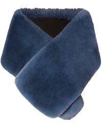 Marc Jacobs - Plush Faux Fur Stole - Lyst