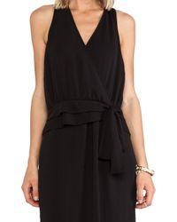 Greylin Tiffany Faux Wrap Dress - Lyst