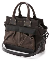 Rag & Bone Small Pilot Bag Mocha - Lyst