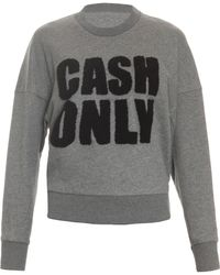 3.1 Phillip Lim Cash Only Terry Sweater - Lyst