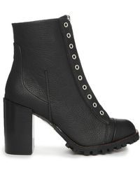 Report Signature Alexa Zip Up Heeled Ankle Boots - Lyst