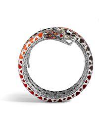 John Hardy Naga Double Coil Bracelet - Lyst