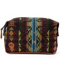Mi-Pac - Mi Pac Wash Bag Aztec Weave - Lyst