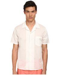 Marc Jacobs Regular Fit Sandy Stripe S/S Button Up - Lyst