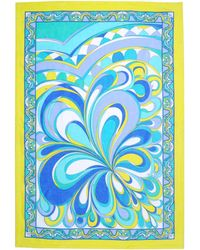 Emilio Pucci Yellow Beach Towel - Lyst