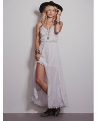 Free People White Paperwhites Maxi - Lyst