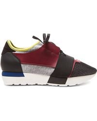 Balenciaga Runner Sneakers black - Lyst