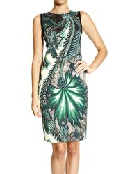 Roberto Cavalli Smanicato Jersey Stampa Psichedelic Tapestry - Lyst