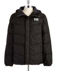 Helly Hansen Downfill Puffer Coat - Lyst