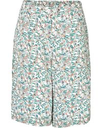 Paul & Joe Printed Culottes - Lyst