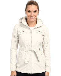 The North Face White K Jacket - Lyst