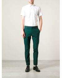 Valentino Slim Fit Chino - Lyst