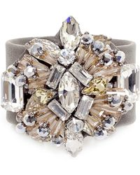 Butterfly - Stargazer Crystal Cuff Bracelet - Lyst
