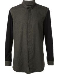 Issey Miyake Docking Viyella Shirt - Lyst