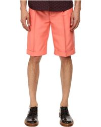 Marc Jacobs Matte Suiting Shorts - Lyst
