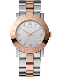 Marc By Marc Jacobs Women'S Two-Tone Stainless Steel Bracelet 36Mm Mbm3194 - Lyst