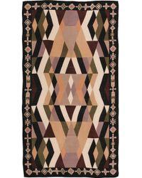 Theodora & Callum - Deer Valley Scarf - Olive Multi - Lyst