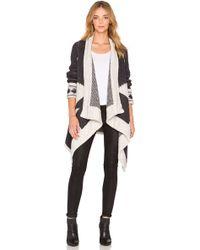 Line - Montana Wrap Sweater - Lyst