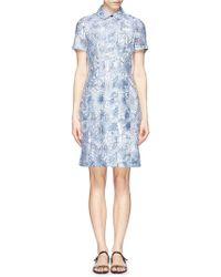Tory Burch 'Selda' Dreamcatcher Print Pleat Dress - Lyst