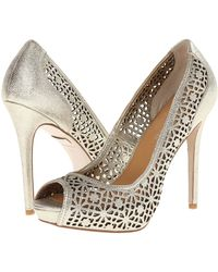 Badgley Mischka Silver Junior - Lyst