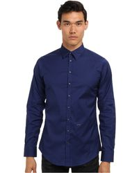 DSquared2 Runway Stretch Poplin Button Up Shirt - Lyst