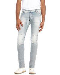 G-star Raw Light Wash Slim Fit Jeans - Lyst