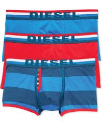 Diesel Mens Boxer Shorts 3pack - Lyst