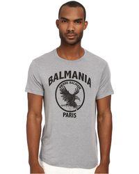 Balmain Balmania Tee - Lyst