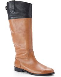 Lauren by Ralph Lauren Brown Jennessa Boots - Lyst