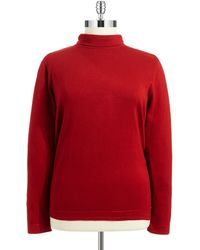 Joseph A Plus Mock Turtleneck Sweater - Lyst