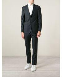 Z Zegna Textured Suit - Lyst