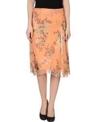 Renato Nucci - 3/4 Length Skirt - Lyst