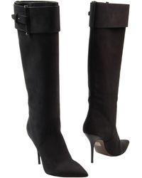 Calvin Klein High-Heeled Boots - Lyst