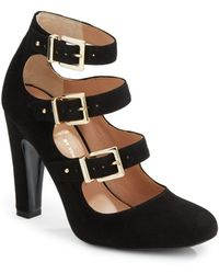 Vince Camuto Signature Gillee Suede Pumps - Lyst