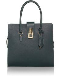 Patrizia Pepe Tote Leather Bag - Lyst
