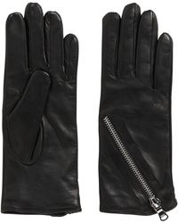 HUGO - Leather Gloves: 'dh 67' - Lyst