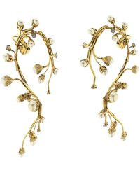 Erickson Beamon - Stratosphere Faux-Pearl & Crystal Ear Cuffs - Lyst