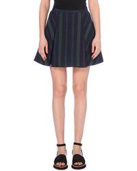 Sacai Pleated Tweed Skirt - For Women - Lyst