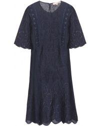 Vanessa Bruno Linen Dress - Lyst