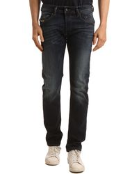 Diesel Belther Dark Blue Slim Fit Jeans - Lyst