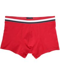Tommy Hilfiger | Red Tri-colour Boxer Shorts | Lyst